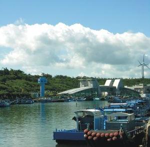 後壁湖漁港(西半島)